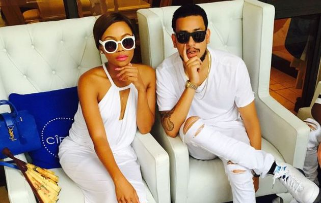 Photos of AKA and Bonang Looking Cute Together