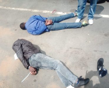 5 suspects arrested in foiled armed robbery in Melrose, Johannesburg