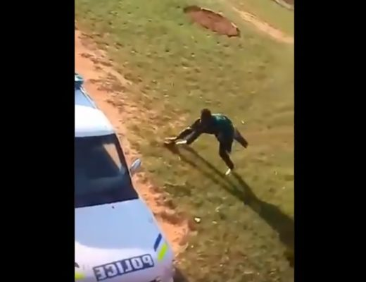 The Full Story Behind Man arrested for attacking Mpumalanga police with stones