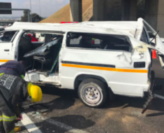 Multiple children Injured when taxi overturns in Soshanguve