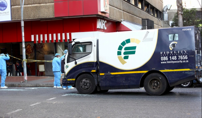 Two former Fidelity guards jailed for theft of R2.9 million