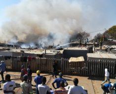 Fire destroys 15 shacks in Randburg
