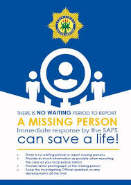 Eastern Cape Police are investigating a case of a missing 73-year-old