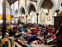 Relocation of refugees and asylum seekers from the Central Methodist Church in Cape Town