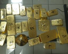 R 11 million worth of gold recovered from alleged smuggler