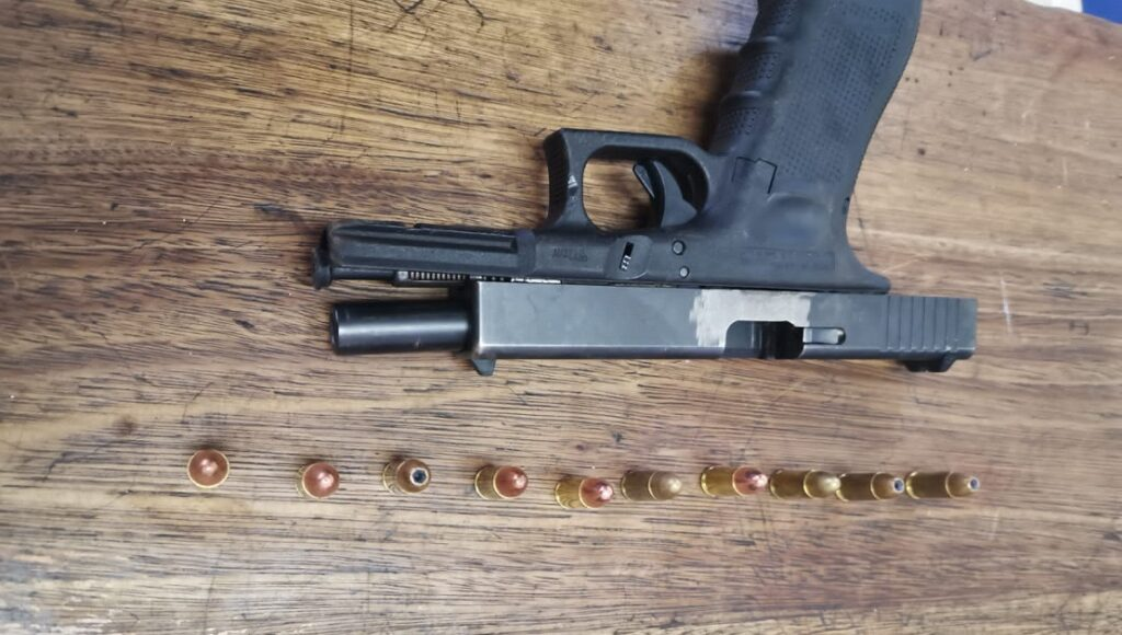 K9 Unit arrested two suspects for possession of unlicensed firearm
