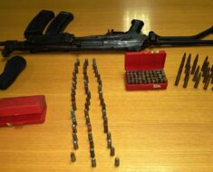 Anti-Gang unit in Kensington confiscated firearms & ammunition and drugs
