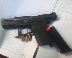 A firearm was confiscated and two suspects aged 14 and 21 were arrested for possession of illegal firearm - Western Cape