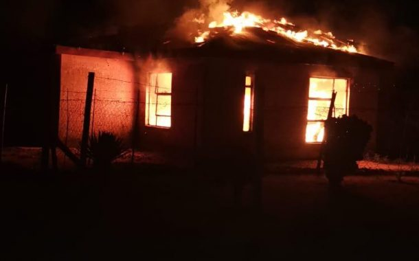 Man torched in the house dies - Free State