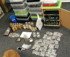 Police arrested a 36-year-old man for drugs with an estimated street value of R46 000 at a makeshift laboratory - Western Cape