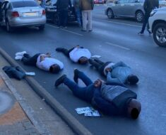 Police arrested four suspects who were for unlicensed firearms and driving a car suspected to be stolen - Gauteng