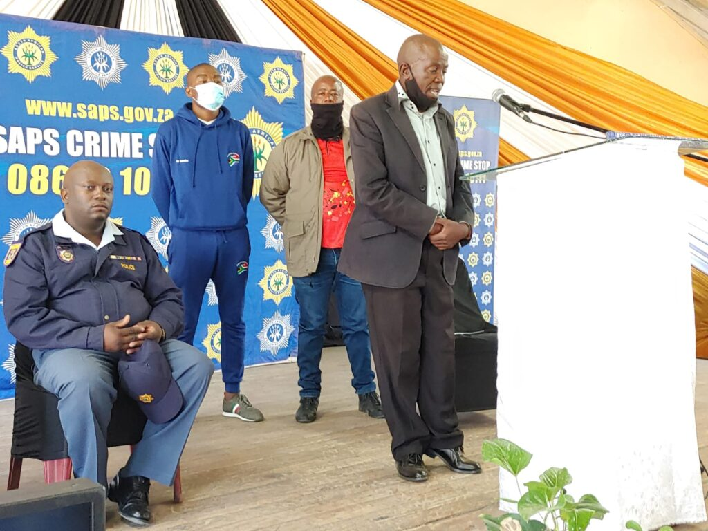 SAPS Commissioner delivers keynote address in a memorial service of the late Sergeant Nyameko Mbelani - Eastern CapeSAPS Commissioner delivers keynote address in a memorial service of the late Sergeant Nyameko Mbelani - Eastern Cape