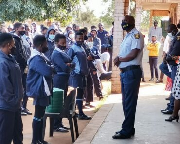 SAPS conducted safer school awareness campaign at Marhorhwani Malele Secondary School - Limpopo