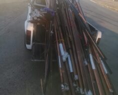 Two suspects were arrested for possession of stolen copper and wire cables - Free State