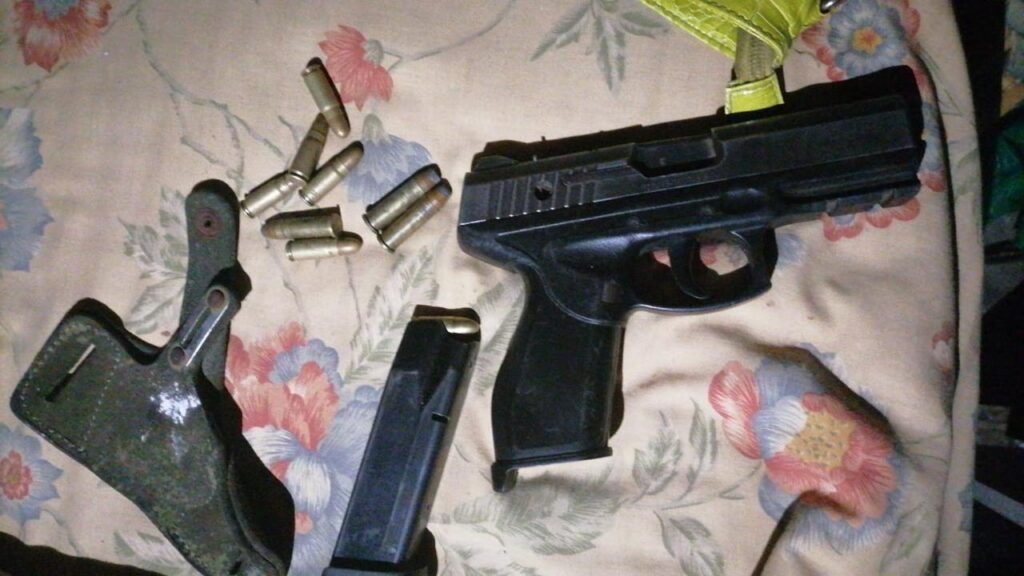31-year-old suspect was arrested in possession of a 9mm pistol and ammunition - Western Cape