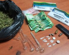 A 56-year-old suspect was arrested for possession of drugs, dagga and a 9mm pistol with magazine - Eastern Cape