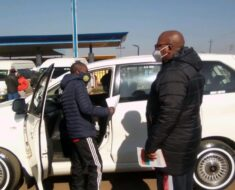 Duduza police conducted a fruitful awareness against the Hijacking of local taxis - Gauteng