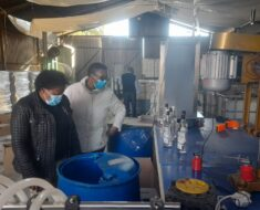 Illegal distillery discovered in Welkom and three suspects arrested - Free State
