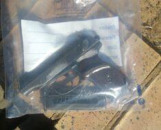 Police arrest four men and seize unlicensed firearm - North West