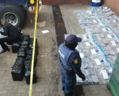 Police seized 552 bricks of cocaine, four vehicles, a grey BMW including three State vehicles - Gauteng