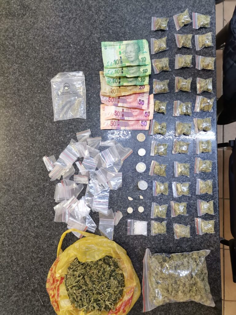 Suspect arrested with drugs - Free State