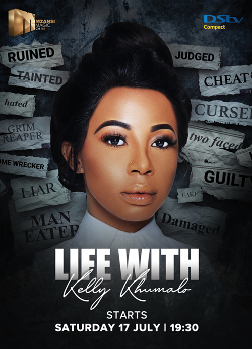 SA's best structured reality show, Life with Kelly Khumalo, to premiere on Mzansi Magic