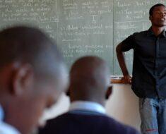 School talk against bullying and gangsterism - Gauteng