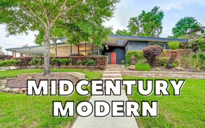 HOUSTON Midcentury Modern Home Tour