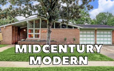 Midcentury Modern for Less than 250k in Houston, Tx
