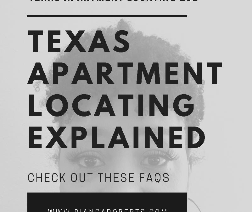Apartment Locating FAQ's