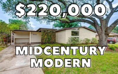Houston MidCentury Modern for under 250k in Robindell Subdivision