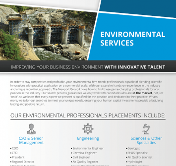 Environmental Services Recruiters