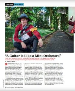 Gary Lucas article