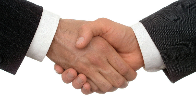 Shaking Hands On A Dream Job