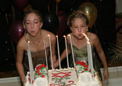 Candlelighting Bat Mitzvah & Sister