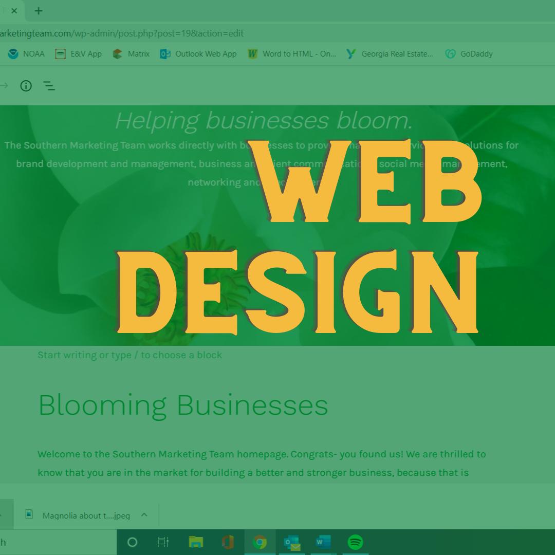 Southern Marketing Team Web building, Web Design and Web Development