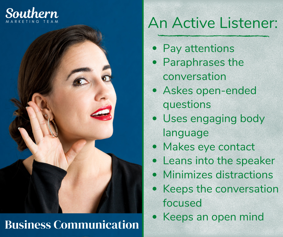 Southern Marketing Team- Active Listener- Business Communication