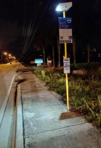 PV Stop+,  Broward County Transit, Fort Lauderdale, FL