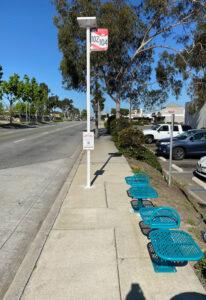 PV Stop+, Long Beach Transit, Long Beach, CA