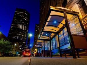 Urban Solar shelter lighting 14