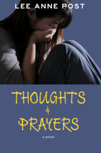 Thoughts Prayers Book Cover