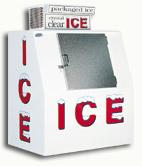 model 40 slant outdoor ice box