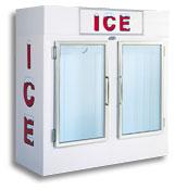 model 60 upright indoor ice box