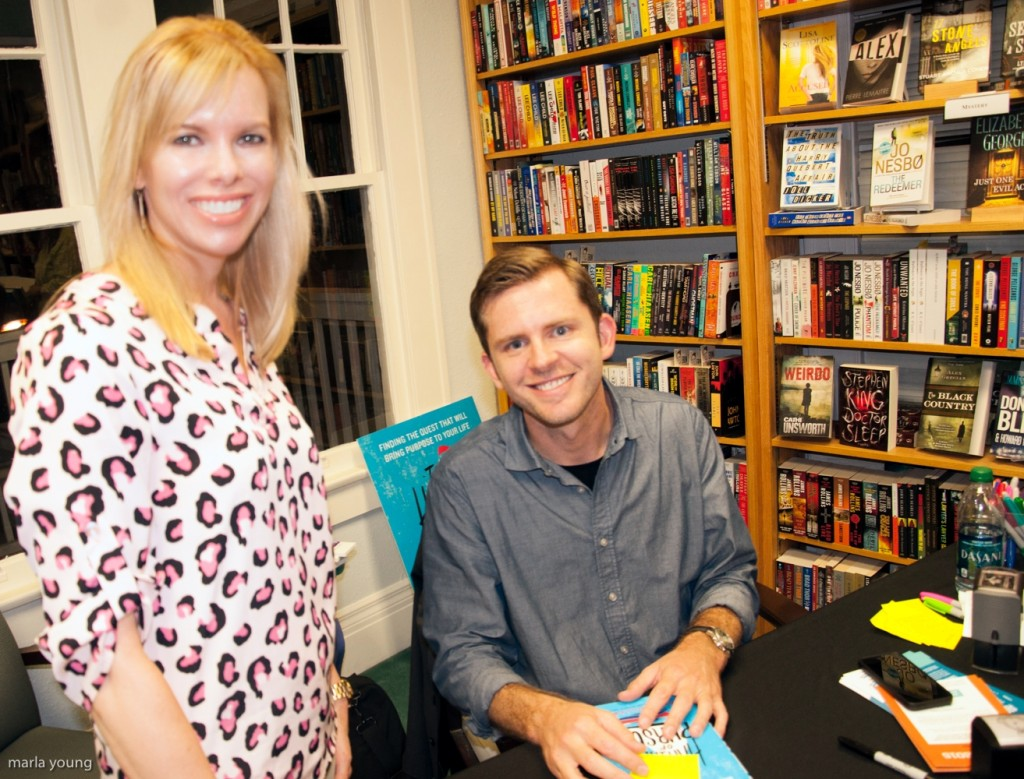 The Happiness of Pursuit Book Tour Tampa,