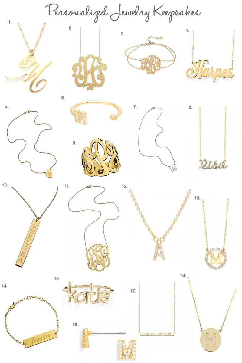 My Favorite Personalized Jewelry