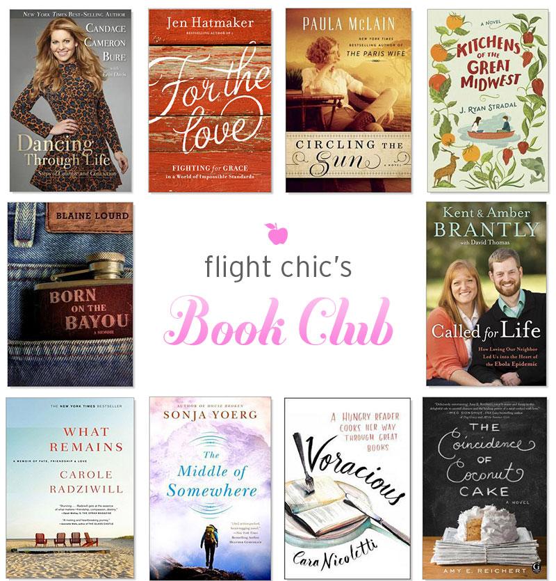 August Book Club Picks