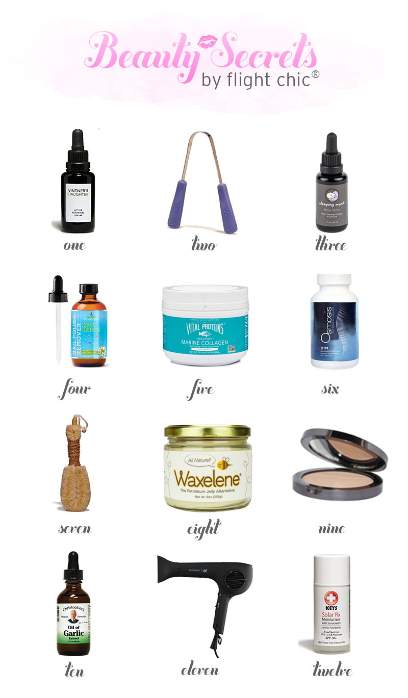 favorite beauty and wellness products