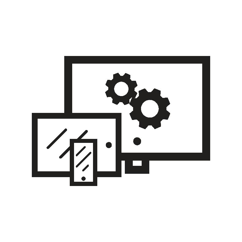 Custom mobile, tablet, desktop website design