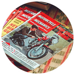 motorcycle magazine hello