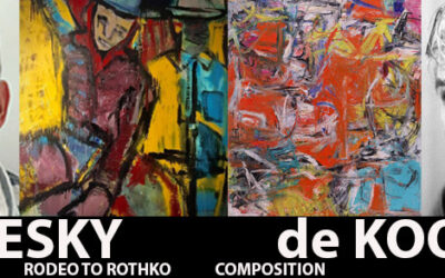 IN-FOCUS ARTICLE: 2 Artists with Bold Strokes